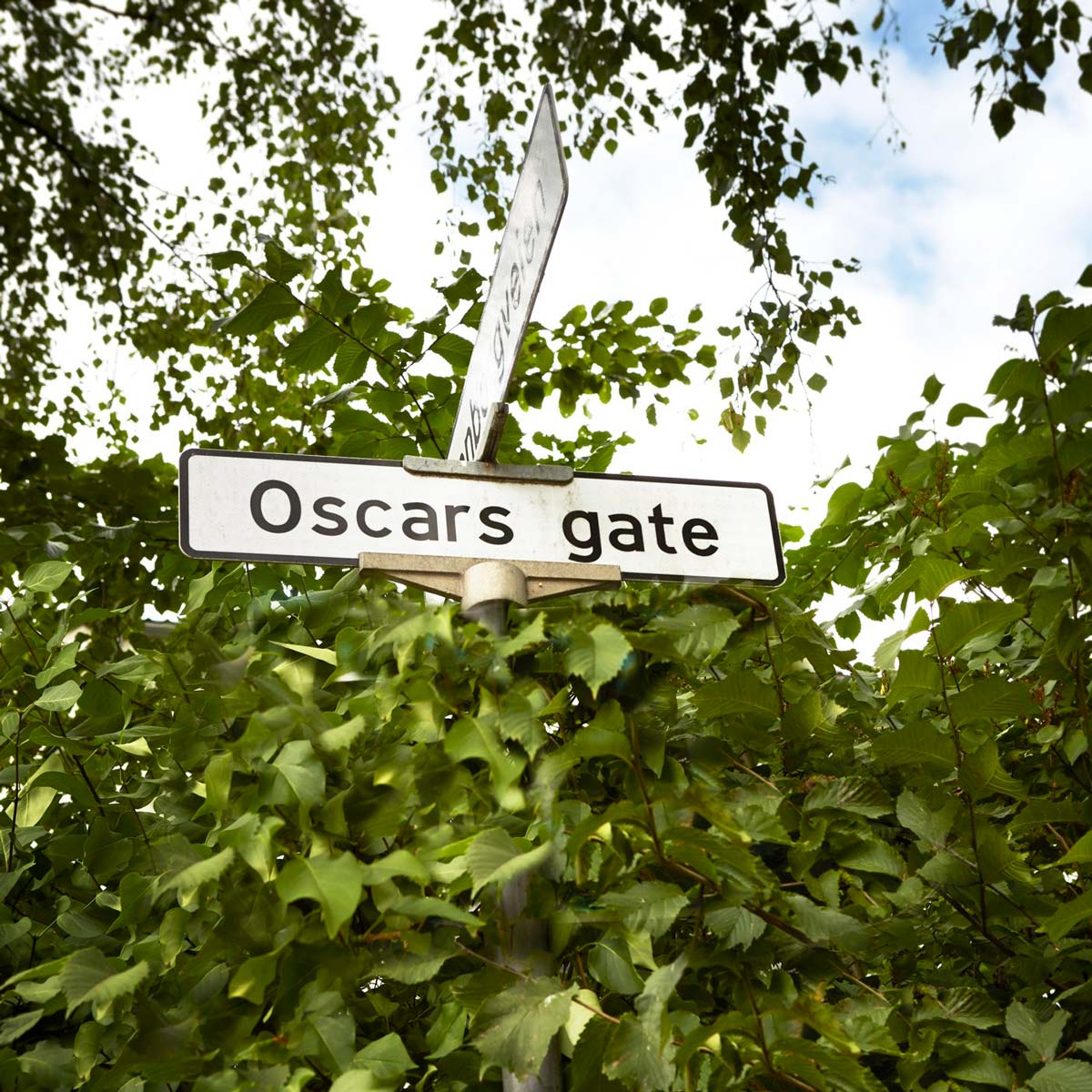 Gateskilt Oscars gate