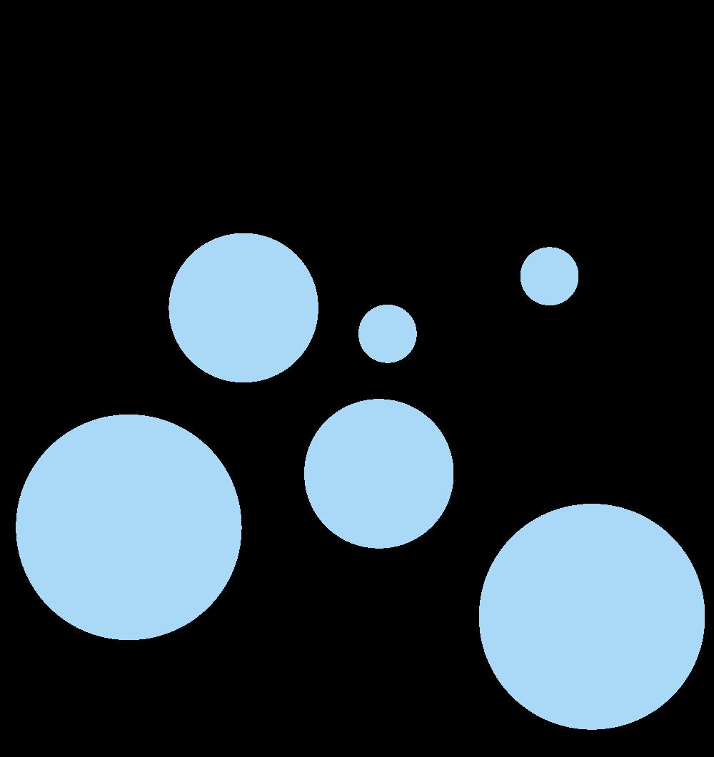 blåbobler